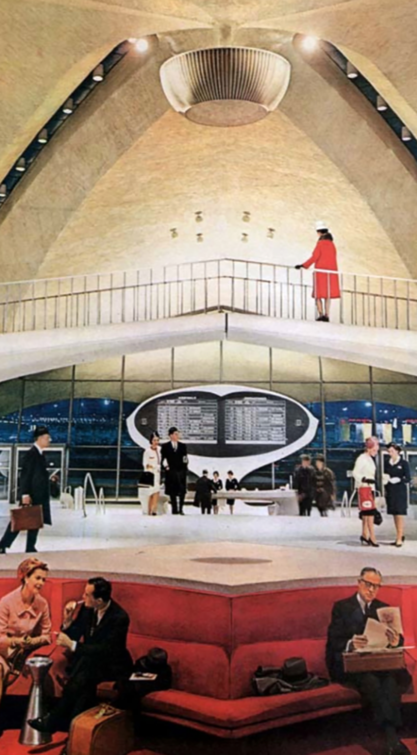 JFK Terminal, 1962 advertising
