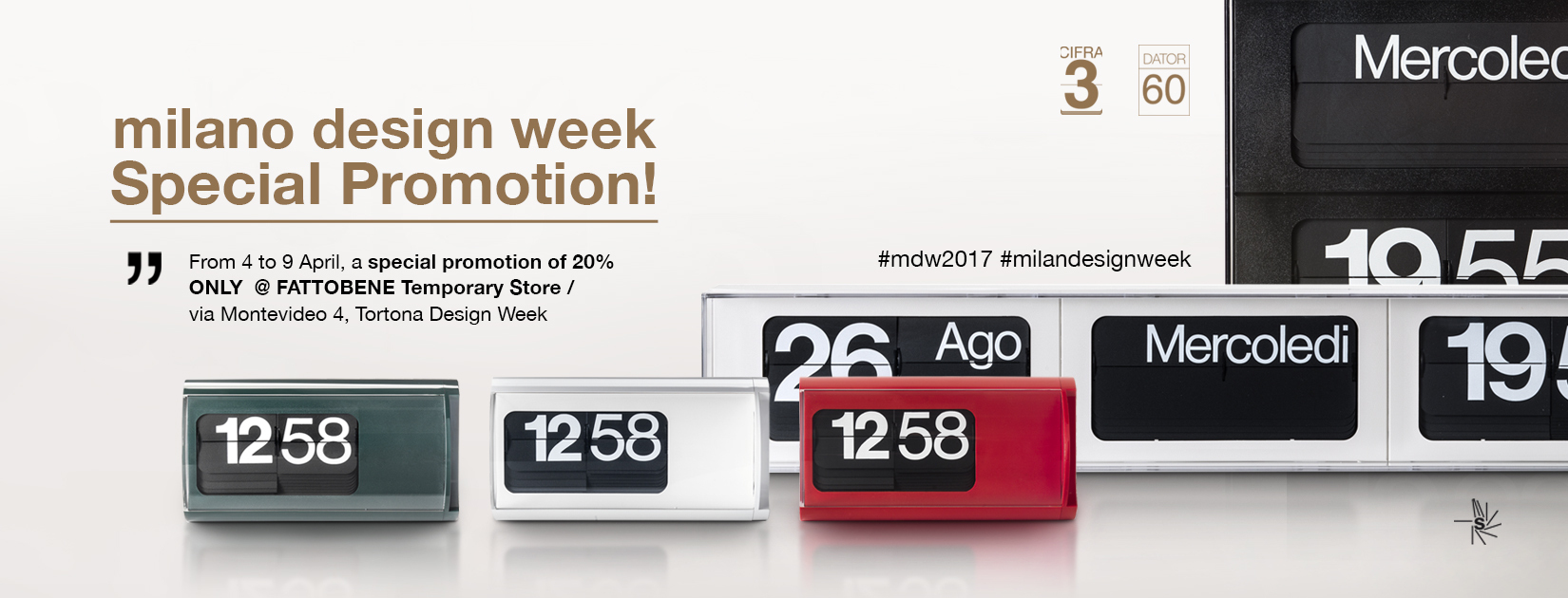 Milano Design Week SpecialPromotion